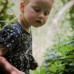Portrait Kind im Freien