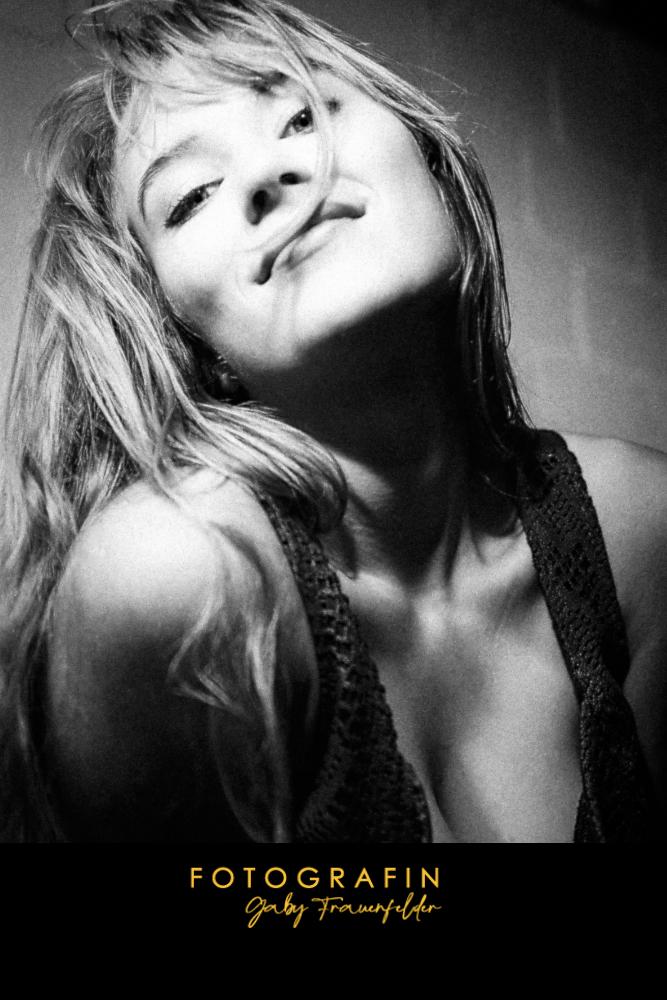 erotisches Portrait einer jungen Frau