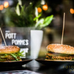 Pott-Pommes Veggieburger