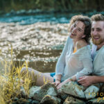 Paar am Wasser